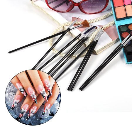 10pcs Set Diy Nail Art Pen Brush Tools Polish Uv Gel Cosmetic