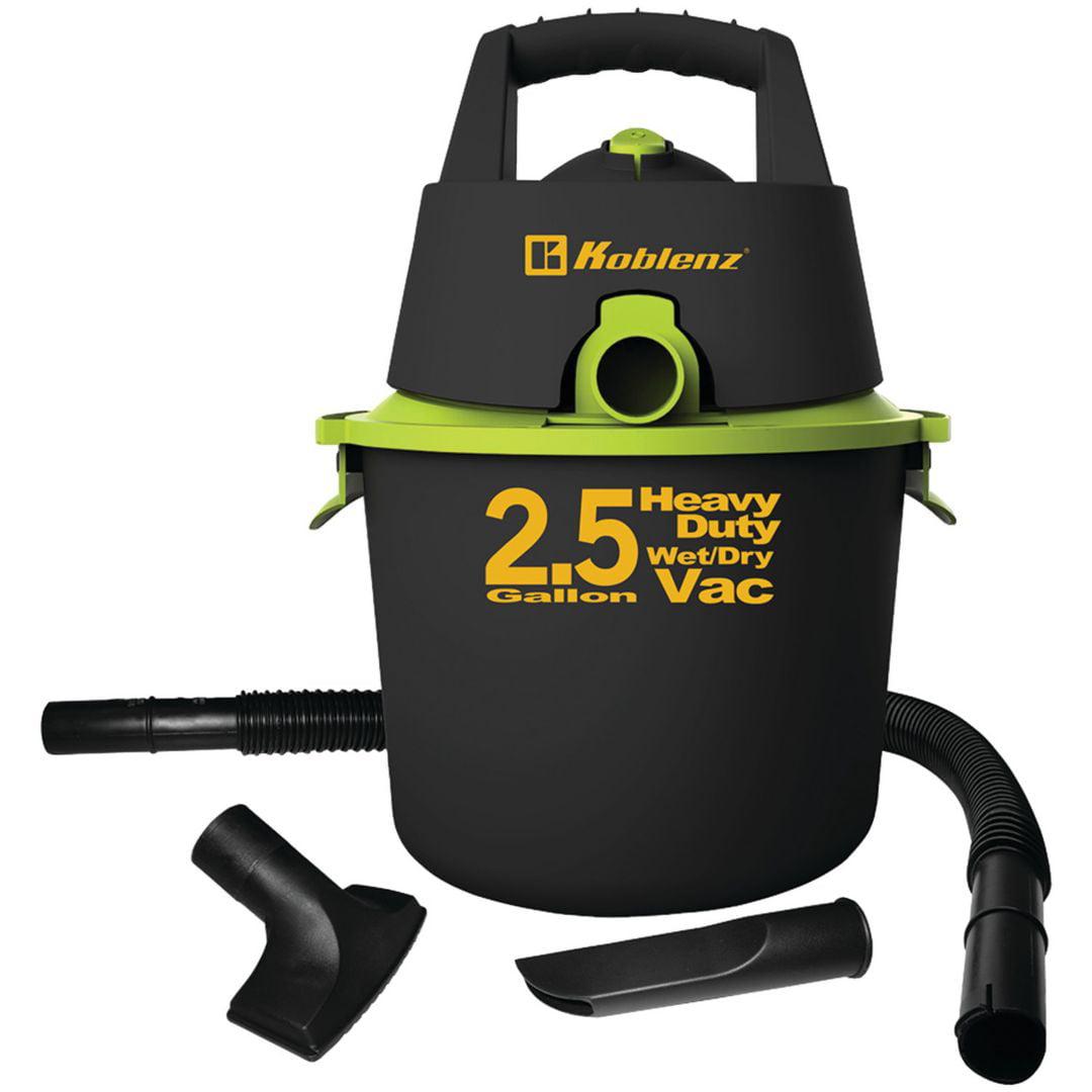 2.5 Gallon Wet/Dry Vacuum