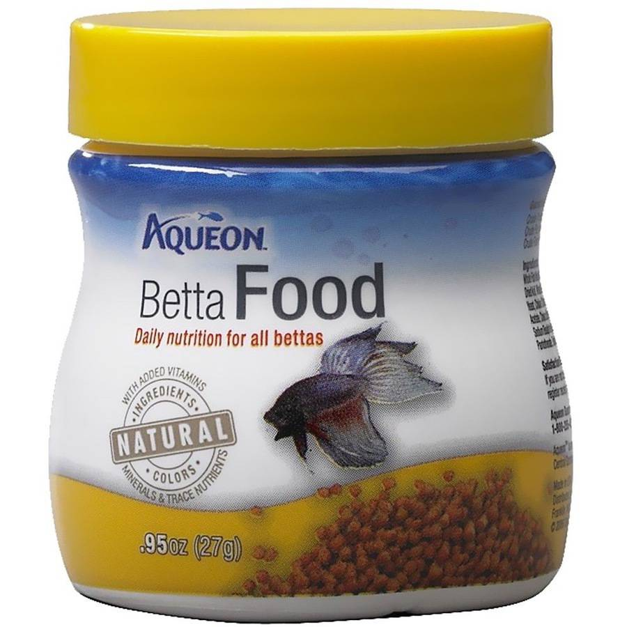 Aqueon Betta Fish Food, .95oz