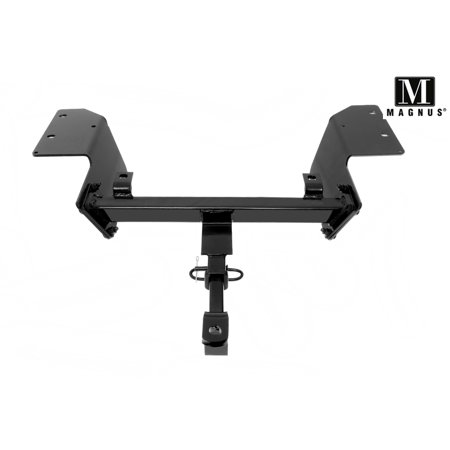 Alabama Crimson Tide Trailer Hitch (Magnus Class 2 Trailer Hitch Compatible with 2000-2013 Chevy Impala / 14-16 Impala)