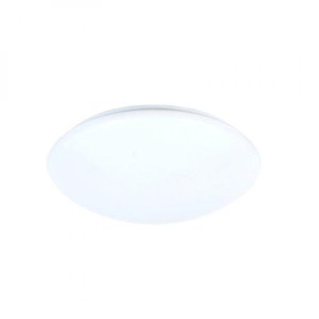 Maximus Pl01 121740D1e W1 60 Watt Equivalent Dimmable Round 12 Inch Led Puff Light  Cool White