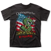Queensr?che- Flag And Money Apparel T-Shirt - Black
