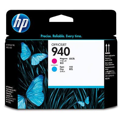 HP 940 Magenta and Cyan Original Printhead