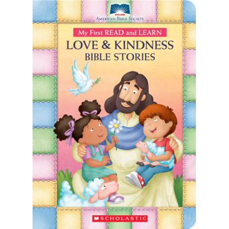 My First Read and Learn Love & Kindness Bible Stories (Board
