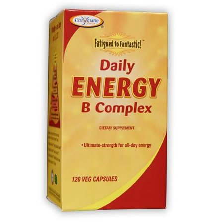 Fatigued to Fantastic Daily Energy B Complex Enzymatic Thera