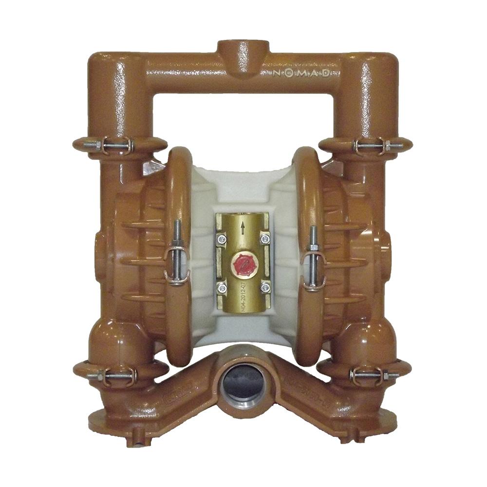 "Nomad 40-8599 1 1/2"" TRANS-FLO GOLD AODD Pump, Aluminum with Santoprene Diaphragms & FBSP Ports"