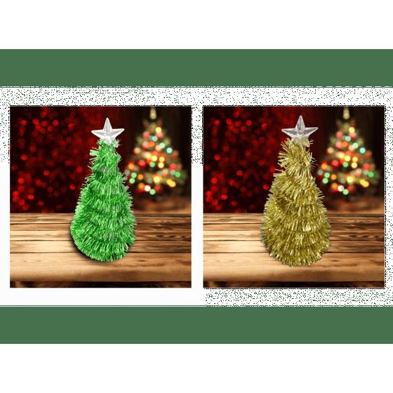 Christmas Tinsel Transparent.Prelit Garland Tinsel Christmas Tree Decoration 8 Inch 2