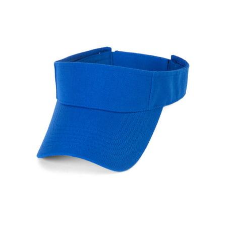 TopHeadwear Royal Blue Kids Blank Visor for $<!---->