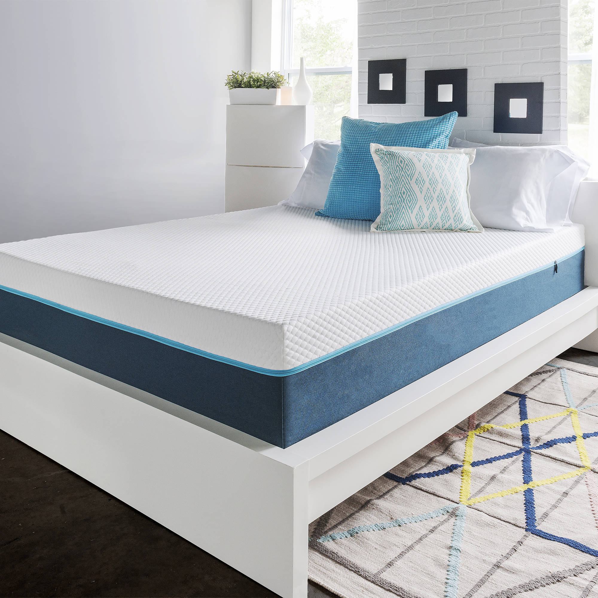 "HoMedics 12"" Air Gel Supreme Memory Foam Mattress, Multiple Sizes"