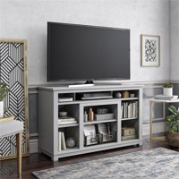 """Ameriwood Home Edgewood TV Stand for TVs up to 55"""" in Dove Gray"""