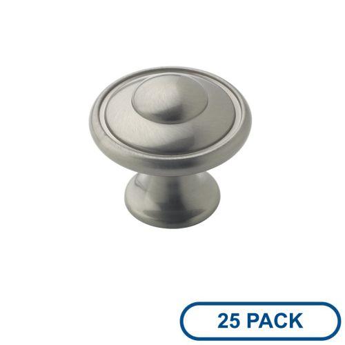 Amerock BP53002-25PACK Allison Value Hardware 1-3 16 Inch Diameter Mushroom Cabi by Amerock