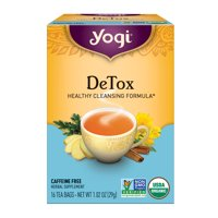 (3 Boxes) Yogi Tea, DeTox Tea, Tea Bags, 16 Ct, 1.02 OZ