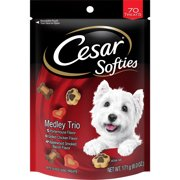 CESAR SOFTIES™ Medley Trio Dog Treats - 6 oz. 70 Treats