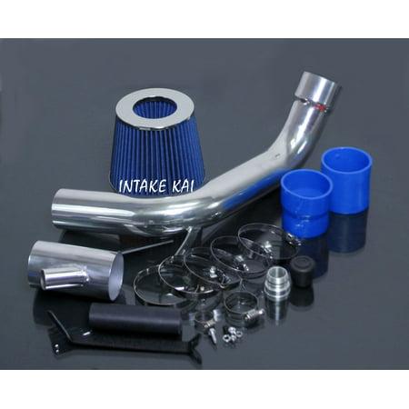 2000 2001 2002 2003 2004 2005 Volkswagen Jetta / Golf GTI L4 1.8 1.8L Turbo, 2.0 2.0L Cold Air Intake Kit Systems (BLUE) Turbo Kit System