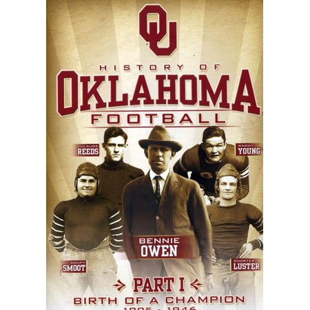 History of Oklahoma Football: Birth of a Champion 1895-1946 (DVD)