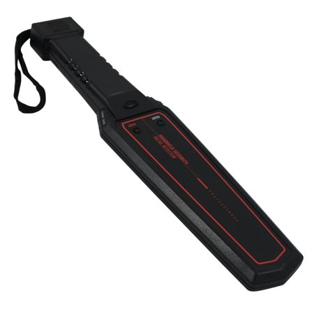 ASR Tactical Professional Handheld Security Metal Detector Wand Headphone Jack - Metal Detector Wand