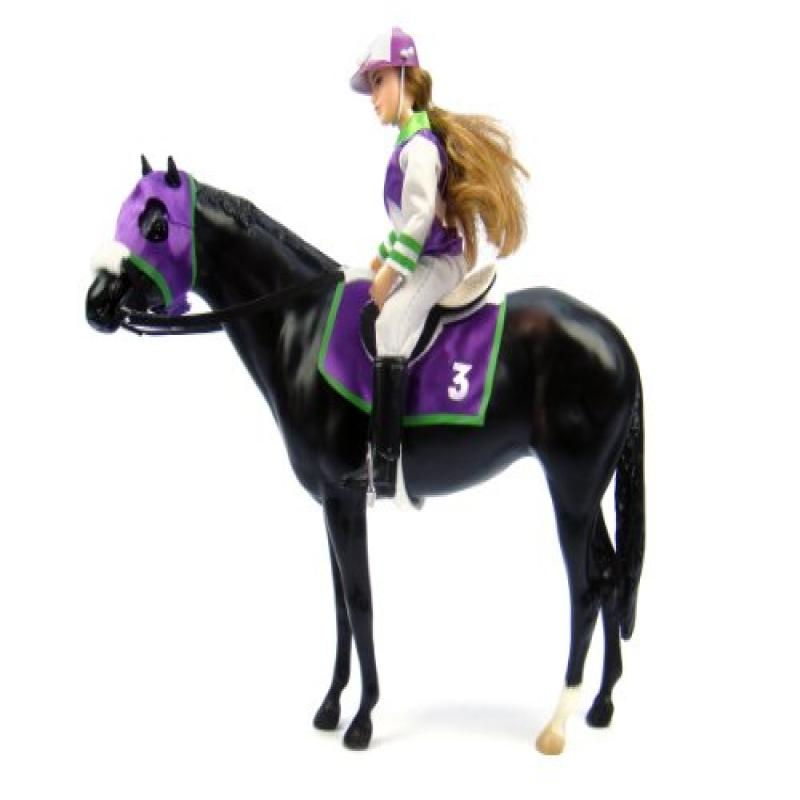 """Breyer Let's Go Riding"""" - Traditional Toy Horse Model wit..."""