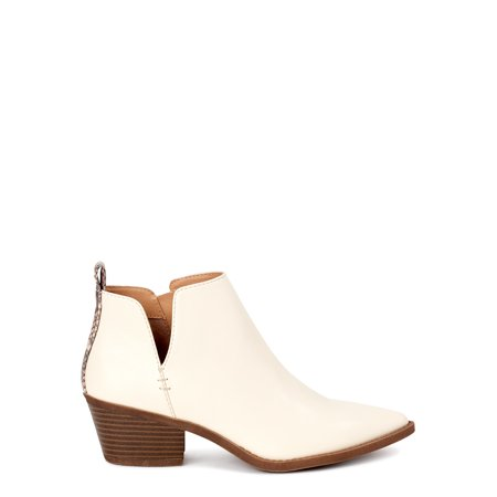 Time and Tru Women's Western Booties