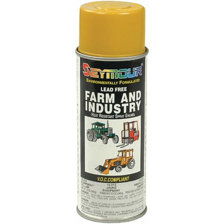 New Seymour Farm & Industry, Enamel Spray Paint -Equipment Yellow