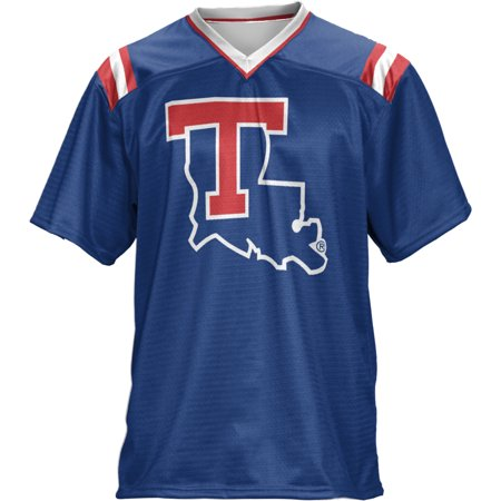 ProSphere Boys' Louisiana Tech University Goal Line Football Fan Jersey ()