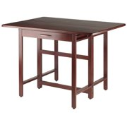 Winsome Wood Taylor Drop Leaf Table, Walnut Finish