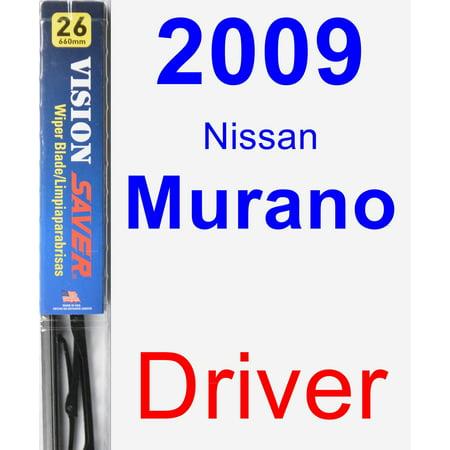 2009 Nissan Murano Driver Wiper Blade Vision Saver