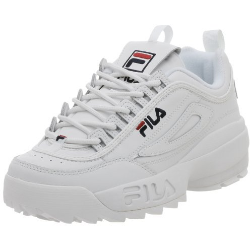 Fila FW01655-111 : Men's Disruptor II Sneaker White
