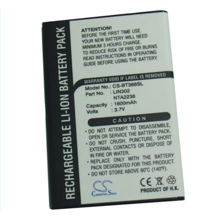 1800mAh Li-ion Battery for Globalsat BT-318, BT-318X GPS Receiver