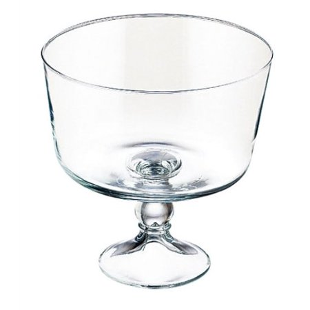 Selene 9-Inch Trifle Bowl, Crafted of glass By (Libbey Selene 6 In 1 Serving Set)