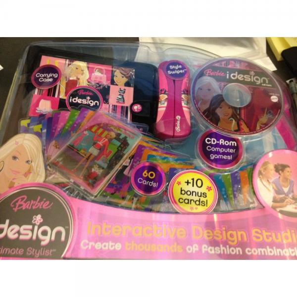Barbie Idesign Interactive Design Studio - Ultimate Styli...