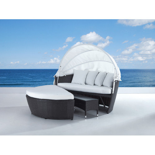 Beliani SYLT LUX Covered Daybed with Cushion