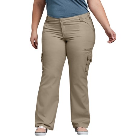 2ff369ba6a5 Dickies - Women s Plus Size Relaxed Fit Cargo Pants - Walmart.com