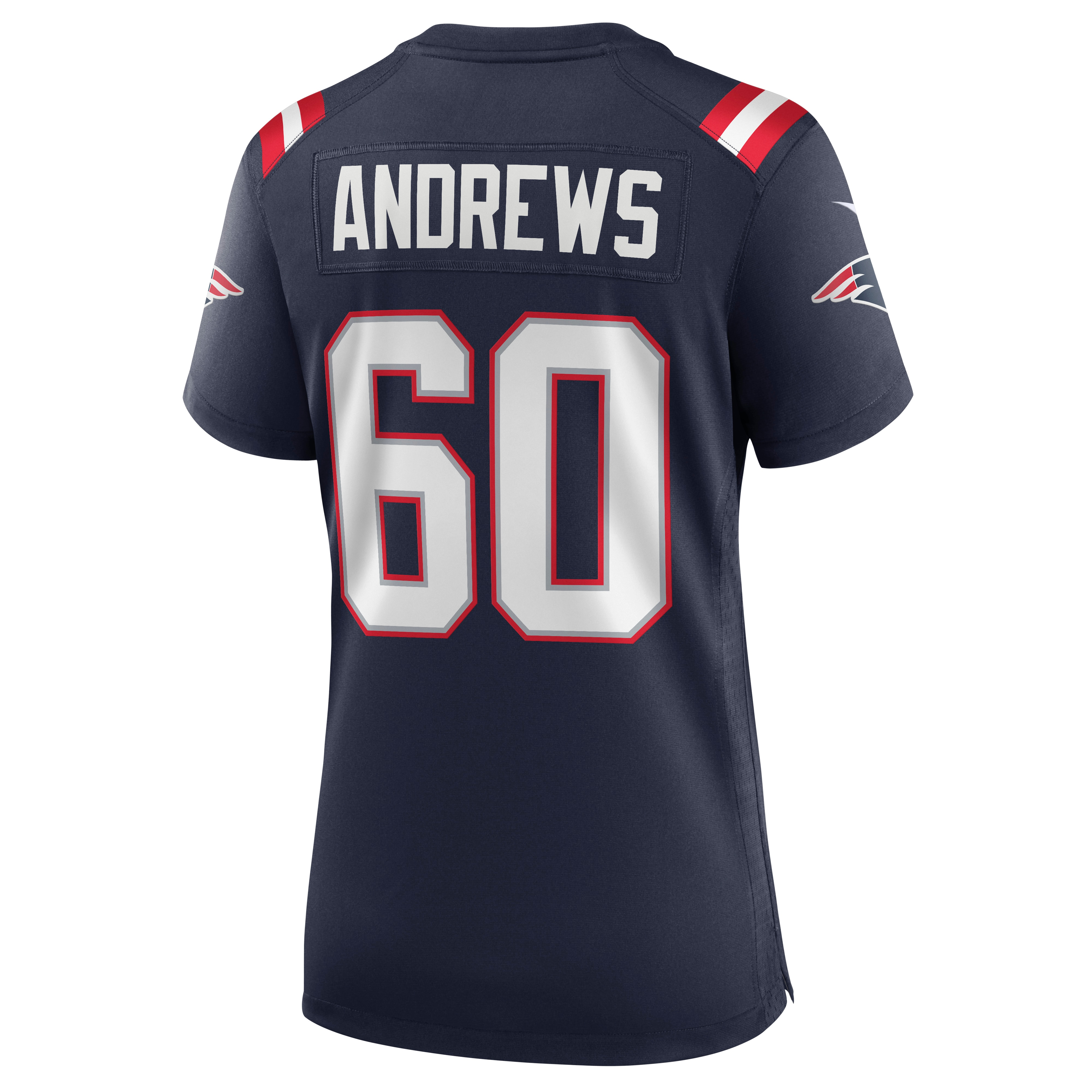 David Andrews New England Patriots Nike Women's Game Jersey - Navy