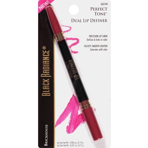 Black Radiance Perfect Tone Dual Lip Definer, CA5144 Brickhouse, 0.006 oz
