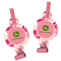 John Deere Pink Camouflage Blowouts / Favors (8ct)