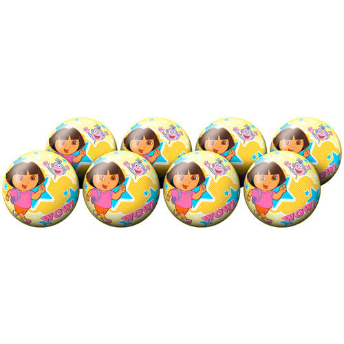 Hedstrom #4 Dora Playball Deflate Party Pack