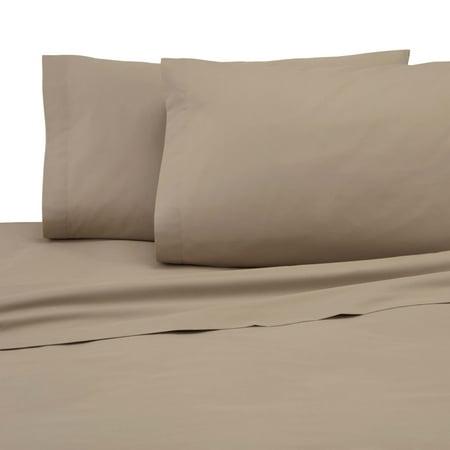 225 Thread Count Standard Khaki Pillowcase Pair
