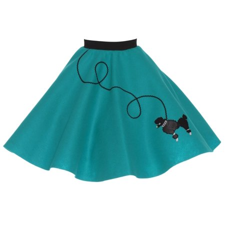 4-6 yrs Small Child - 50's Poodle Skirt - - 50s Kids Fashion