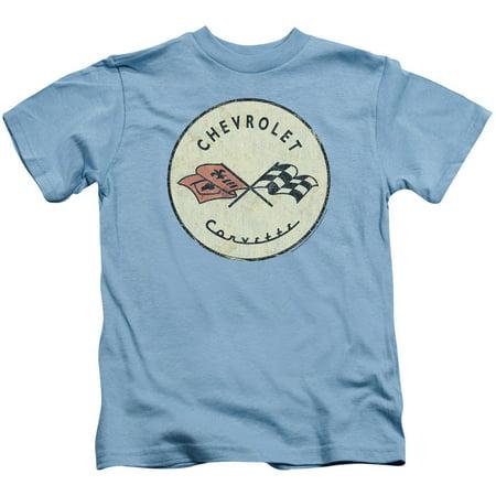 Chevy Boys' Old Vette Childrens T-shirt Carolina - 50s Childrens Clothing