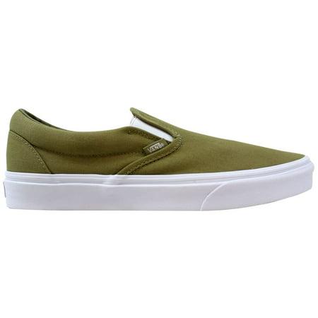 bd7a30fb183945 Vans - Vans Men s Classic Slip-On Mono Canvas Boa VN0A38F7QD9 - Walmart.com