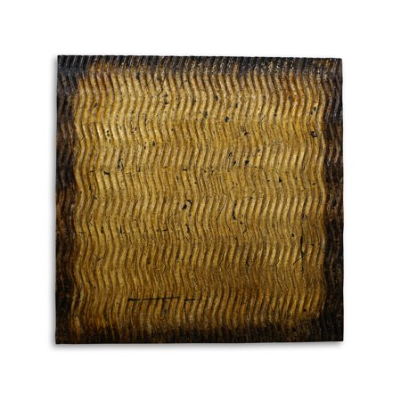 - Screen Gems Metallic Pattern Brown Wall Art SGWA-85