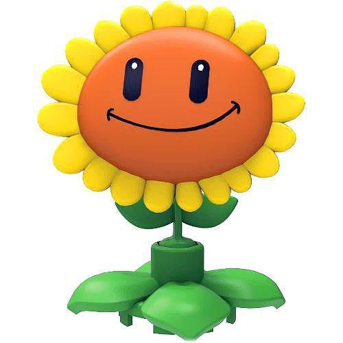 Plants vs. Zombies Series 1 Sunflower Minifigure