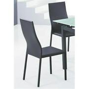 WHI 202-483 Versa Side Chair, Black, 4 Pack