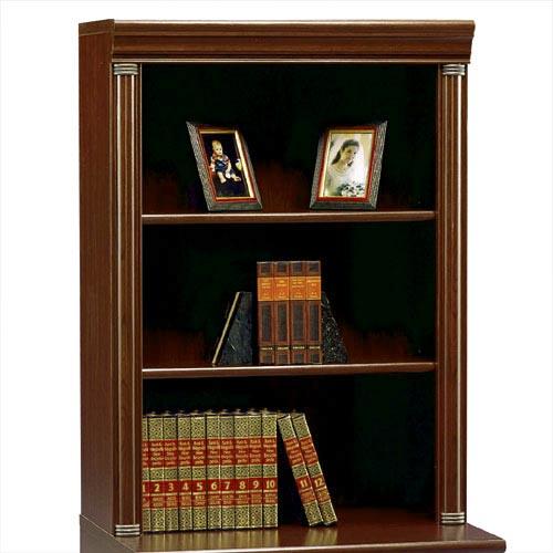 Bush Birmingham Hutch for 2-Drawer Lateral File Cabinet, Harvest ...