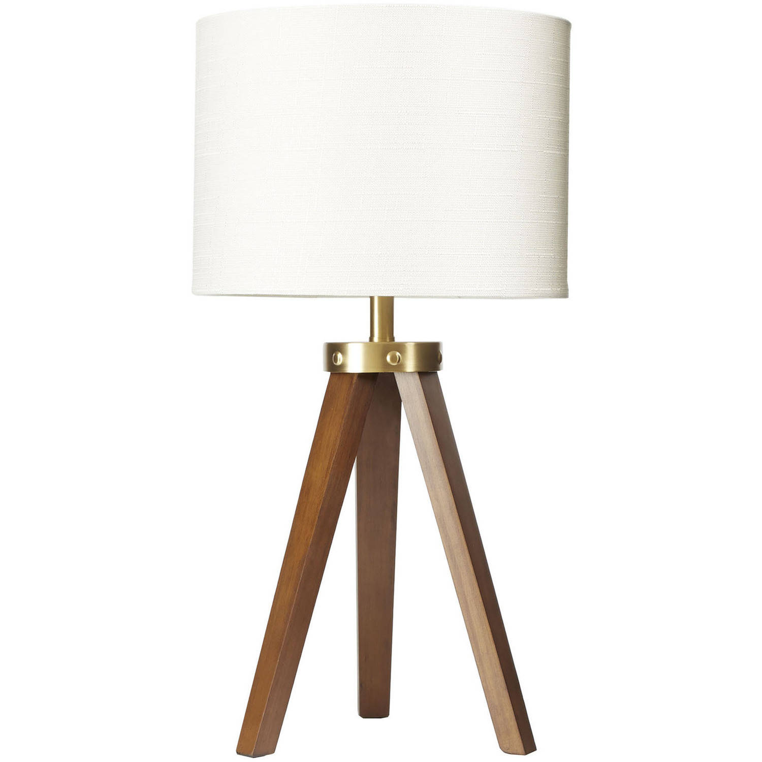 Better Homes And Gardens Wood Tripod Table Lamp, CFL Bulb Included