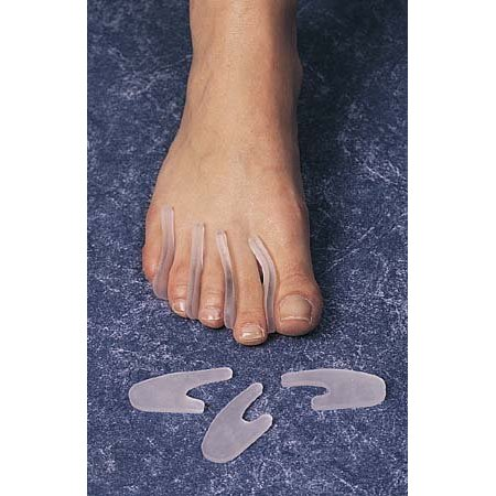 Gel Toe Separators, washable, reusable, can be trimmed - Small - Pack of 15 # 11605Packaged in a polybag By -