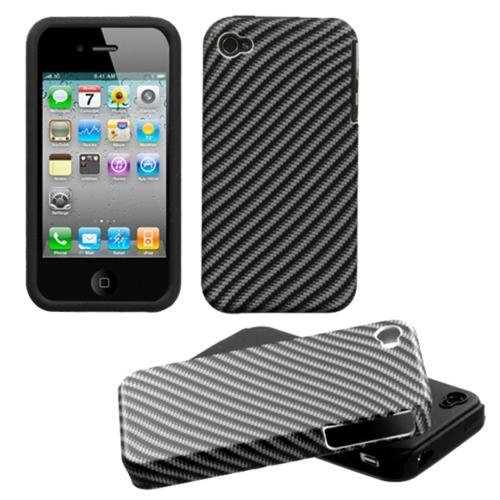 Insten Lizzo Racing Fiber Fusion Case For iPhone 4/4S