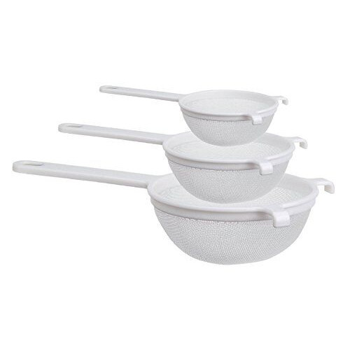 CUL Distributors Culina 3 Piece Nylon Mesh Strainer Set by CUL Distributors
