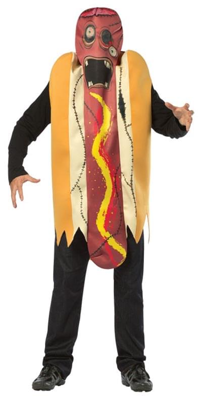 Superior Zombie Hot Dog Menu0027s Adult Halloween Costume, One Size, (40 46)