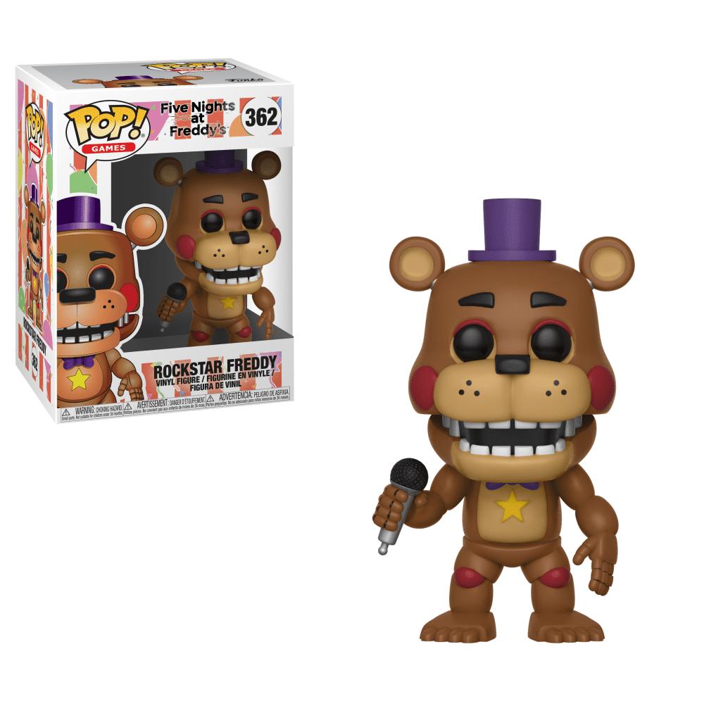 Funko Pop! Games: Five Nights at Freddy's 6 Pizza Sim - Rockstar Freddy